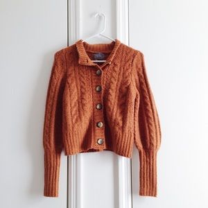 UO Wendy Cable Knit Cardigan